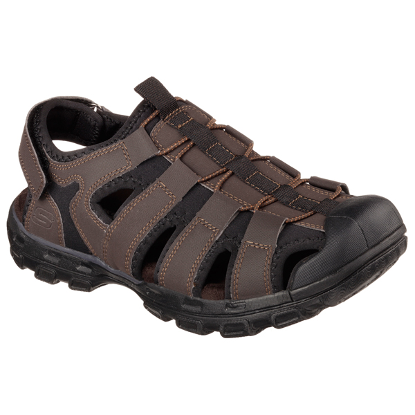 SKECHERS MEN GANDER Chocolate