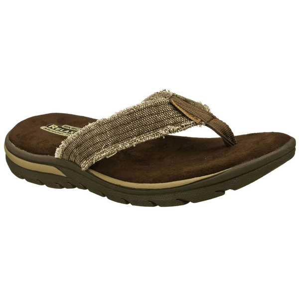 SKECHERS MEN RELAXED FIT: SUPREME - BOSNIA Chocolate