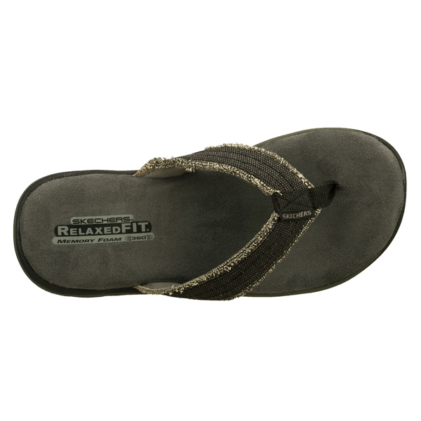 SKECHERS MEN RELAXED FIT: SUPREME - BOSNIA Black
