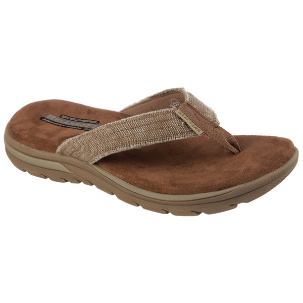 SKECHERS MEN RELAXED FIT: SUPREME - BOSNIA Tan