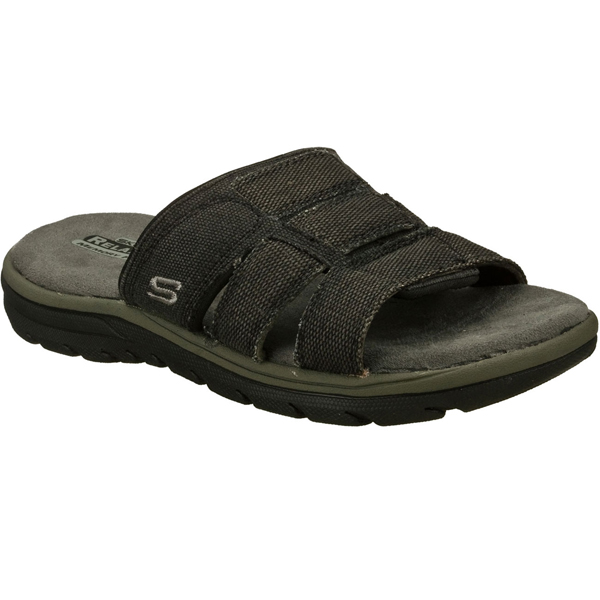 SKECHERS MEN RELAXED FIT: SUPREME - GLADE Black