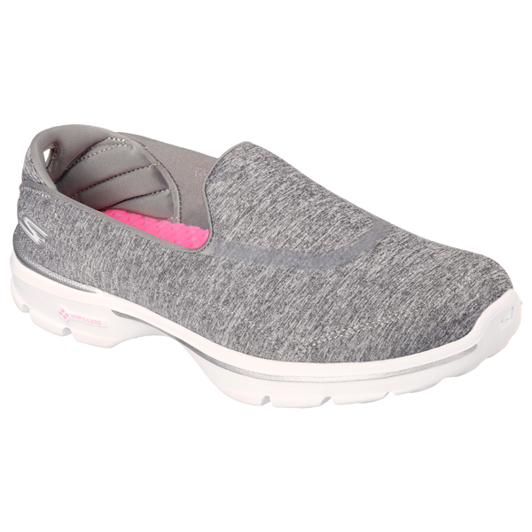 SKECHERS WOMEN GOWALK 3 - REBOOT Gray