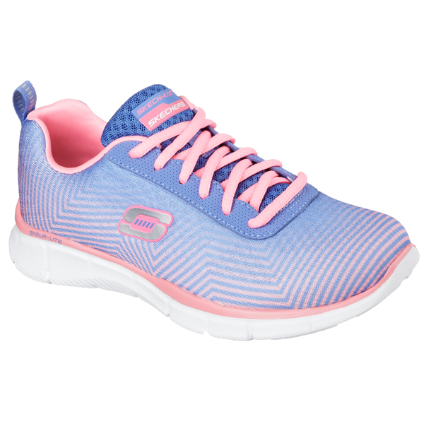 SKECHERS WOMEN EQUALIZER - EXPECT MIRACLES Periwinkle/Pink