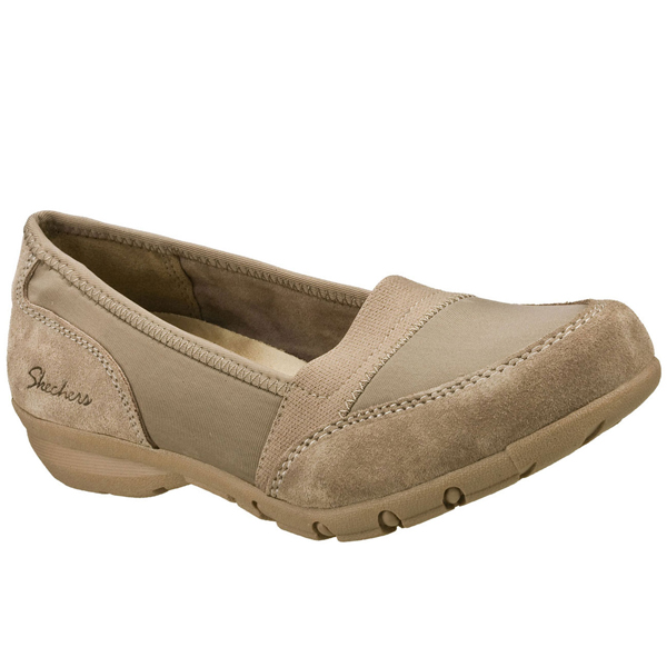 SKECHERS WOMEN RELAXED FIT: CAREER - 9 TO 5 Taupe