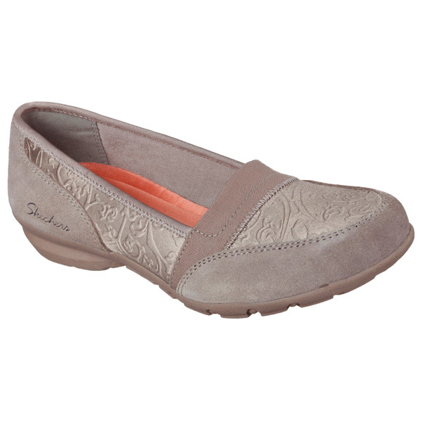 SKECHERS WOMEN RELAXED FIT: CAREER - SUBSTITUTE Taupe