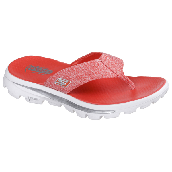 SKECHERS WOMEN GOWALK MOVE - SOLSTICE Red/White
