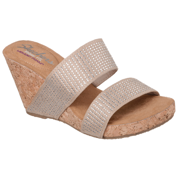 SKECHERS WOMEN RELAXED FIT: MODISTE - EARTHSHINE Taupe