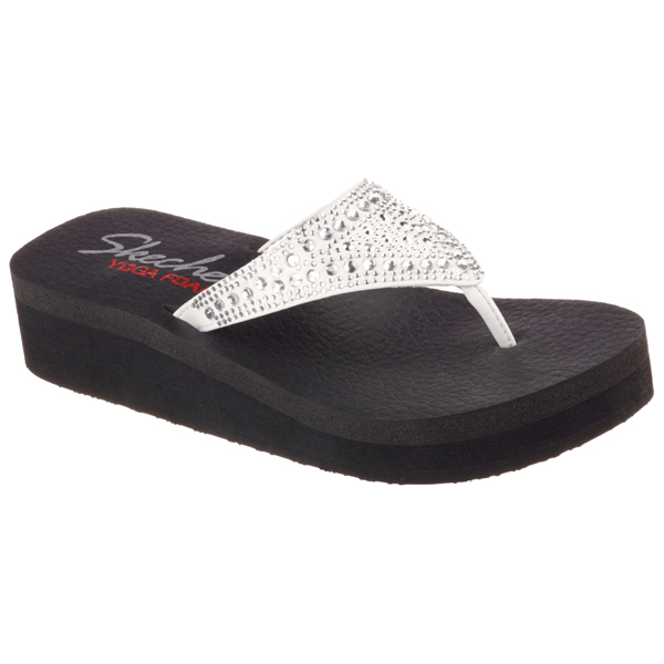 SKECHERS WOMEN VINYASA -BINDI White