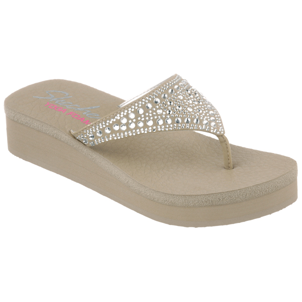 SKECHERS WOMEN VINYASA - BINDI Taupe