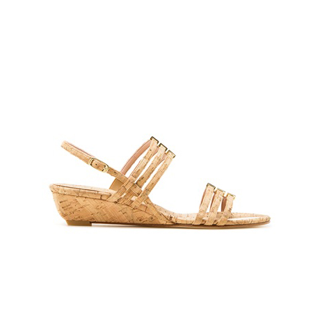 STUART WEITZMAN THE PLAYFUL WEDGE Natural Cork