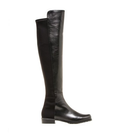 STUART WEITZMAN THE 5050 BOOT Black Nappa