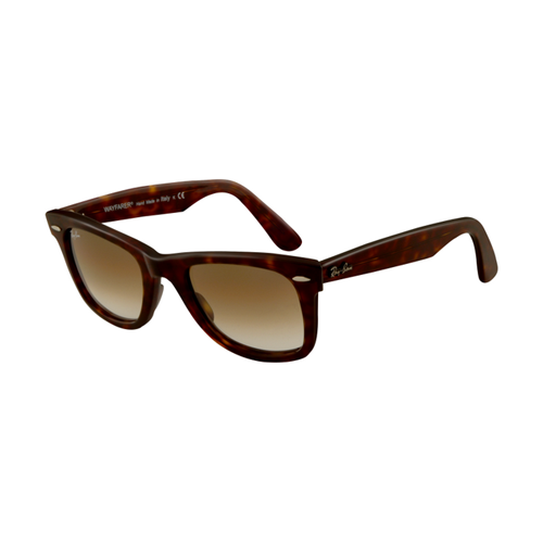 Ray Ban RB2140 Wayfarer Sunglasses Tortoise Frame Crystal Brown