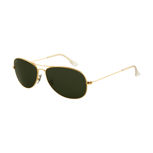 Ray Ban RB3362 Sunglasses Arista Frame Crystal Green Polarized L