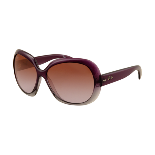 Ray Ban RB4098 Jackie Ohh II Sunglasses Purple Frame Wine Red Gr