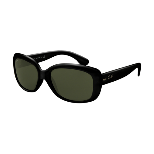 Ray Ban RB4101 Jackie Ohh Sunglasses Black Frame Crystal Green L