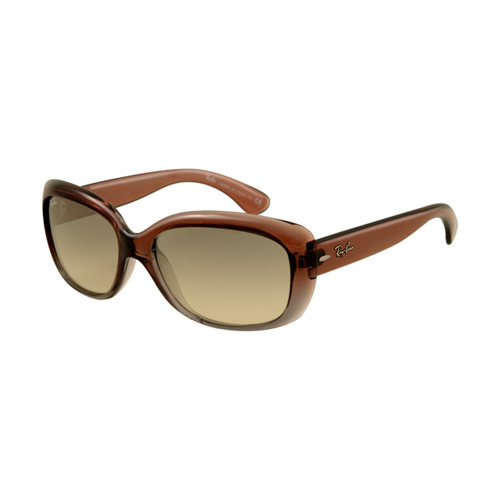 Ray Ban RB4101 Jackie Ohh Sunglasses Brown Frame Green Polarized