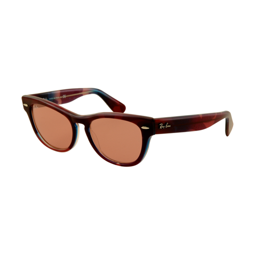 Ray Ban RB4169 Sunglasses Wind Red Frame Crystal Orange Lens