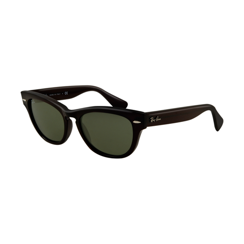 Ray Ban RB4169 Sunglasses Black Frame Crystal Geen Lens