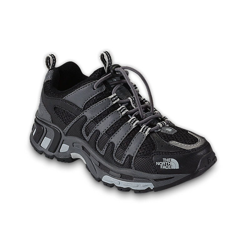 NORTH FACE BOYS BETASSO SHOE BLACK / NICKEL GREY