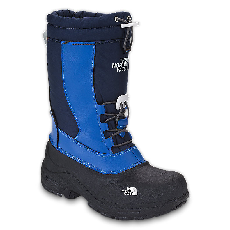 NORTH FACE BOYS ALPENGLOW II JAKE BLUE / DEEP WATER BLUE