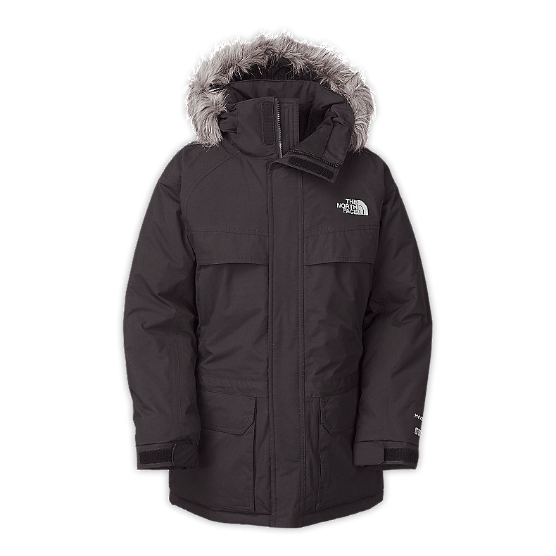 NORTH FACE BOYS MCMURDO PARKA GRAPHITE GREY