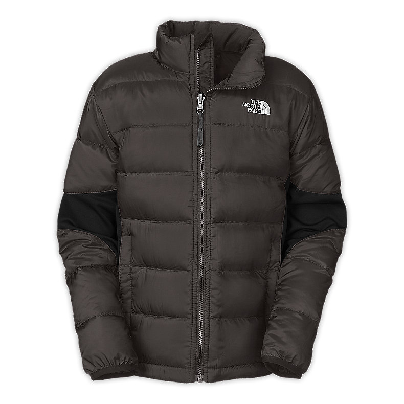 NORTH FACE BOYS LIL CRYMPT JACKET GRAPHITE GREY