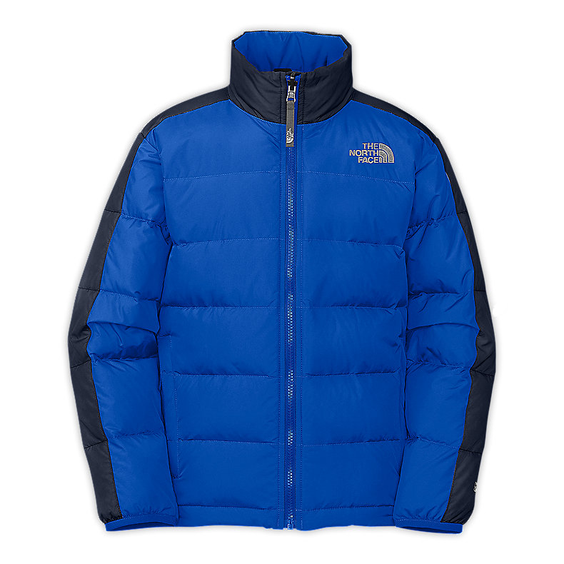 NORTH FACE BOYS ACONCAGUA JACKET JAKE BLUE