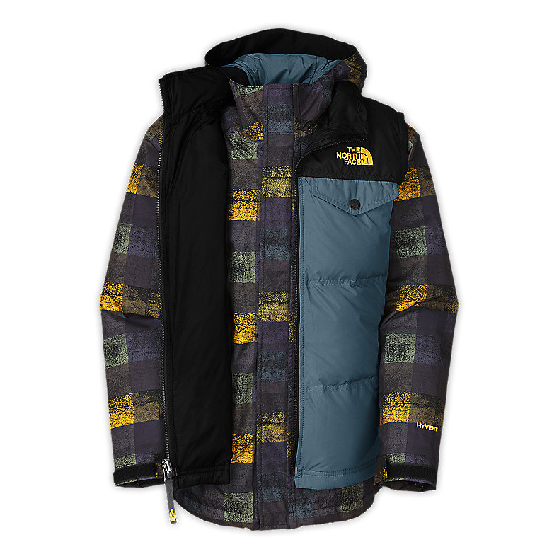 NORTH FACE BOYS VESTAMATIC TRICLIMATE JACKET CONQUER BLUE