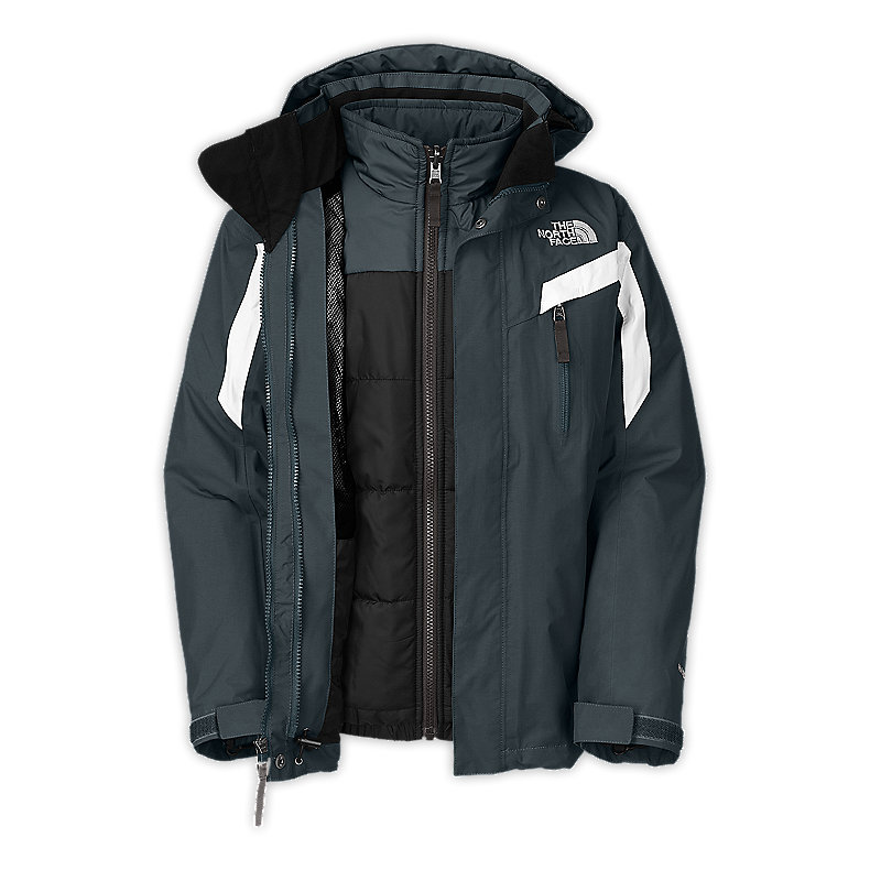 NORTH FACE BOYS BOUNDARY TRICLIMATE JACKET CONQUER BLUE