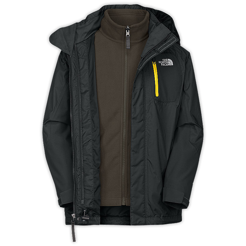 NORTH FACE BOYS ATLAS TRICLIMATE JACKET TNF BLACK