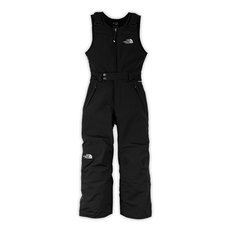 NORTH FACE BOYS INSULATED SNOWDRIFT BIB TNF BLACK