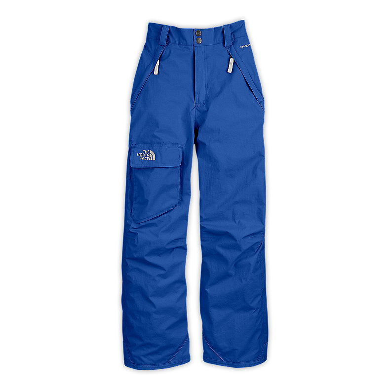 NORTH FACE BOYS FREEDOM INSULATED PANT JAKE BLUE