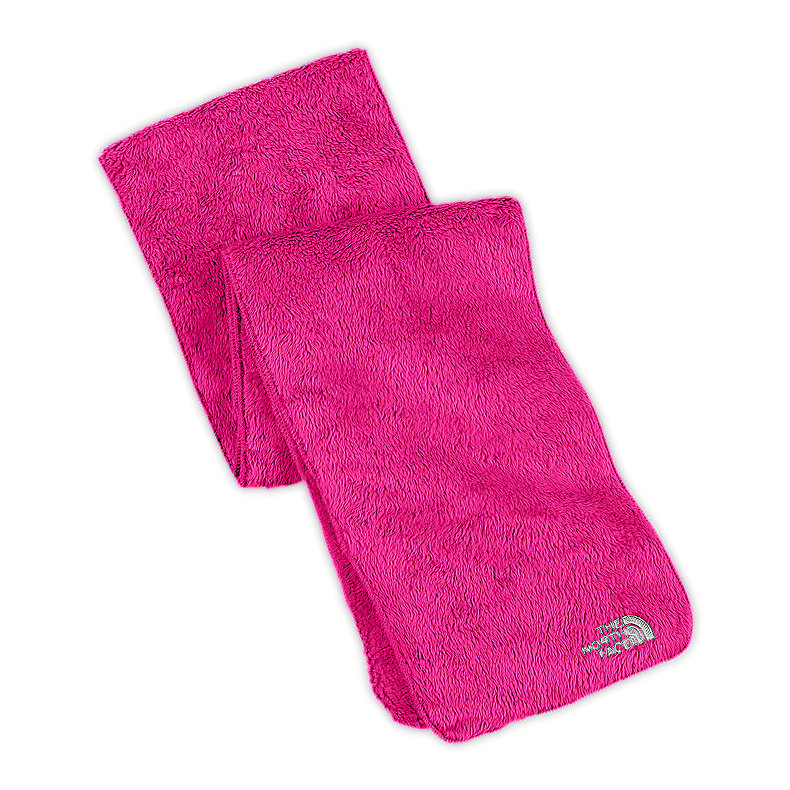 NORTH FACE GIRLS DENALI THERMAL SCARF RAZZLE PINK