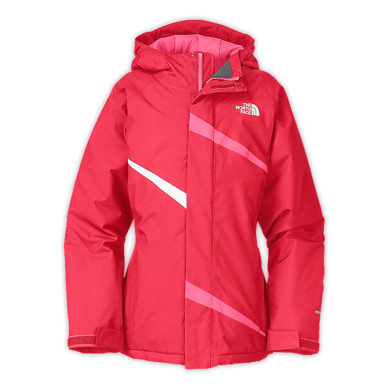 NORTH FACE GIRLS INSULATED ELSA JACKET TEABERRY PINK