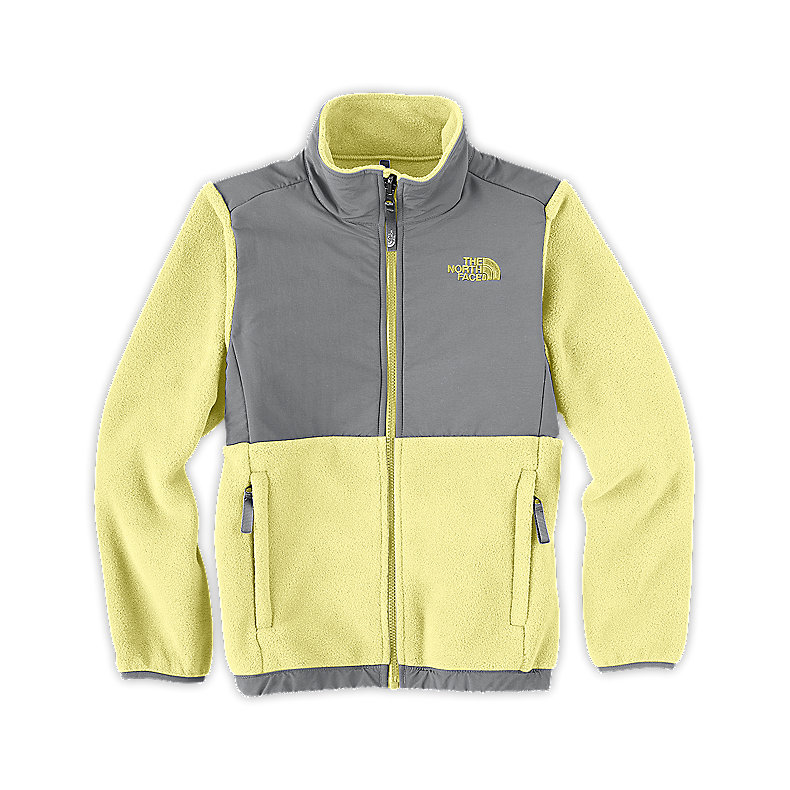 NORTH FACE GIRLS DENALI JACKET STINGER YELLOW