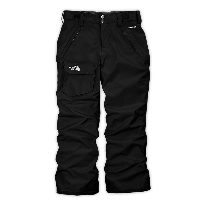 NORTH FACE GIRLS FREEDOM INSULATED PANT TNF BLACK