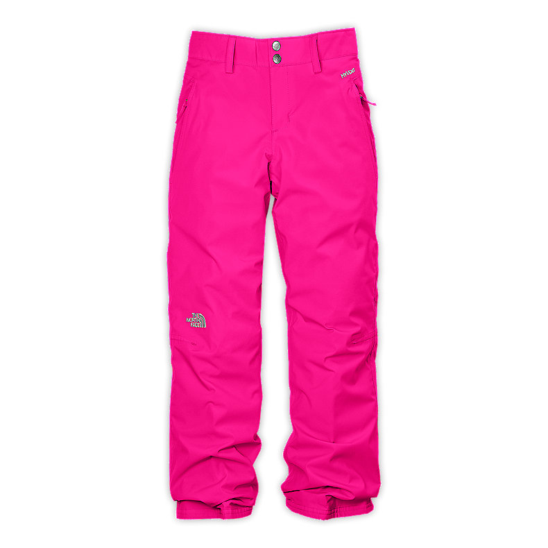 NORTH FACE GIRLS DERBY INSULATED PANT RAZZLE PINK