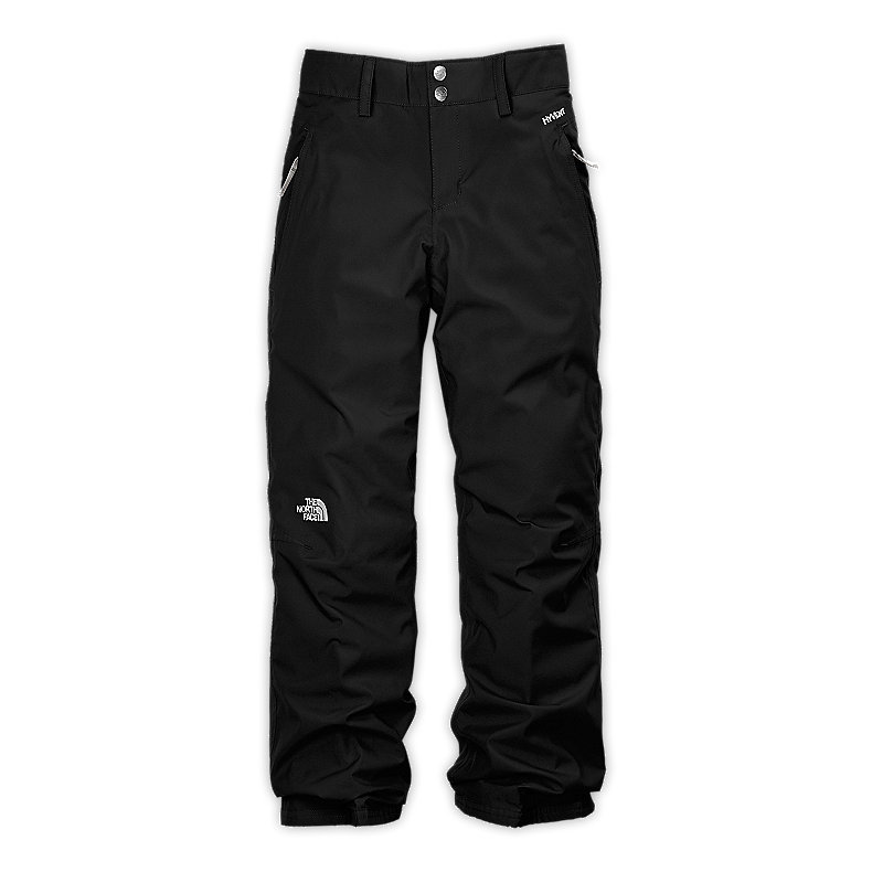 NORTH FACE GIRLS DERBY INSULATED PANT TNF BLACK