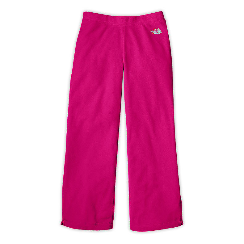 NORTH FACE GIRLS GLACIER PANTS RAZZLE PINK