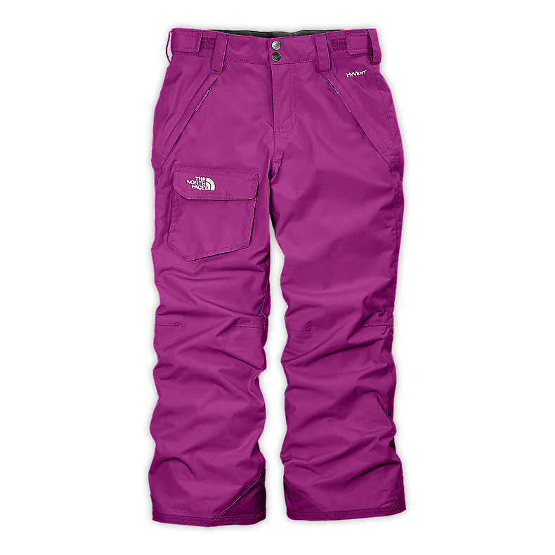 NORTH FACE GIRLS FREEDOM INSULATED PANT PREMIERE PURPLE