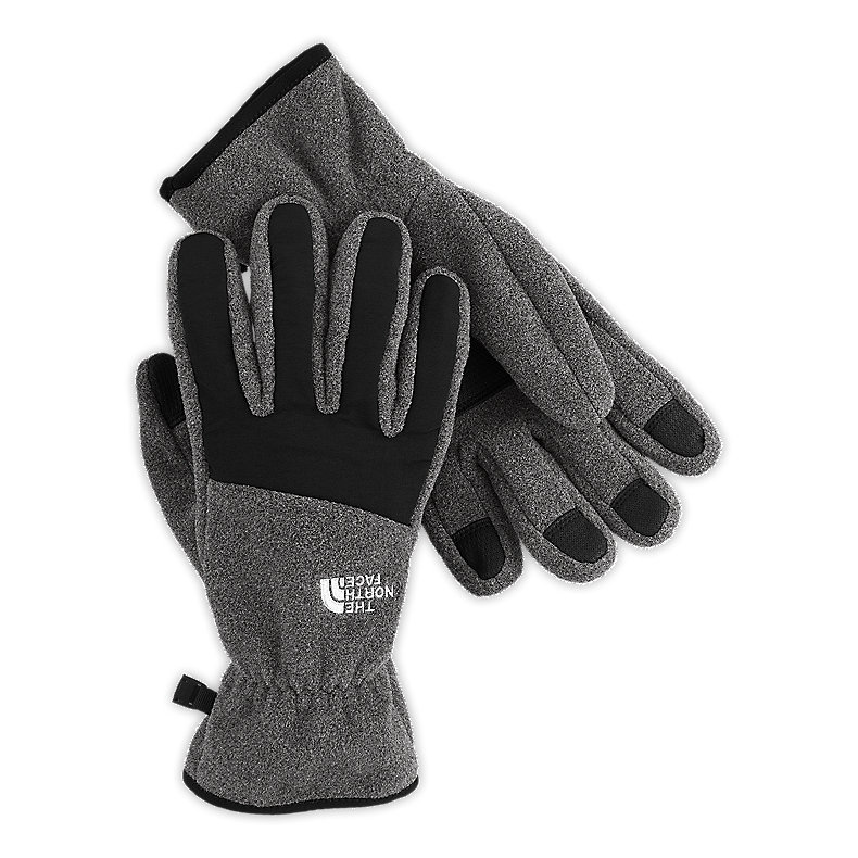 NORTH FACE MEN DENALI GLOVE CHARCOAL HEATHER