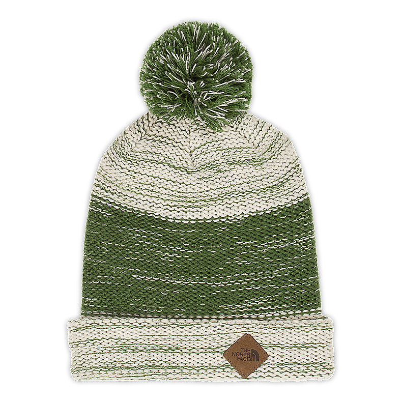 NORTH FACE GRINBRIAR BEANIE CONIFER GREEN