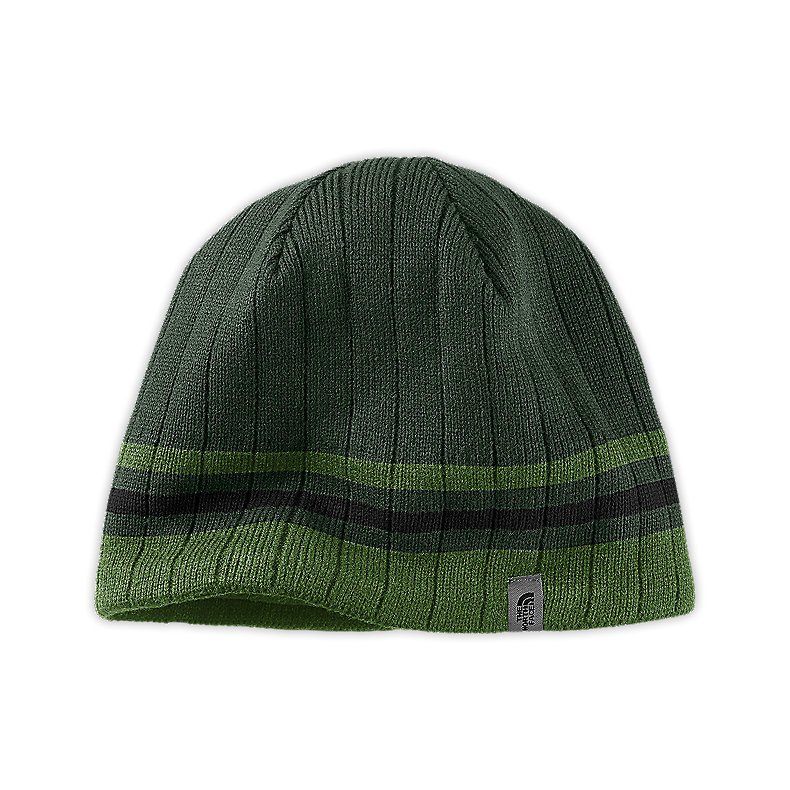 NORTH FACE BLUES II BEANIE NOAH GREEN