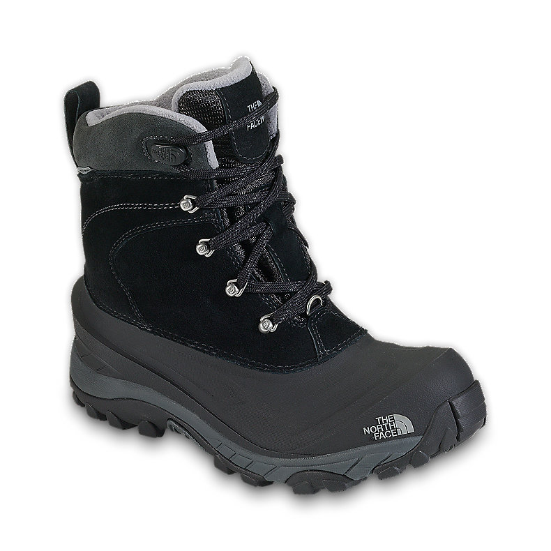 NORTH FACE MEN CHILKAT II BOOT BLACK / GRIFFIN GREY