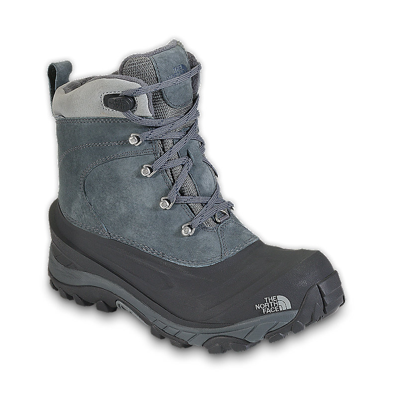 NORTH FACE MEN CHILKAT II BOOT ZINC GREY / DEEP WATER BLUE