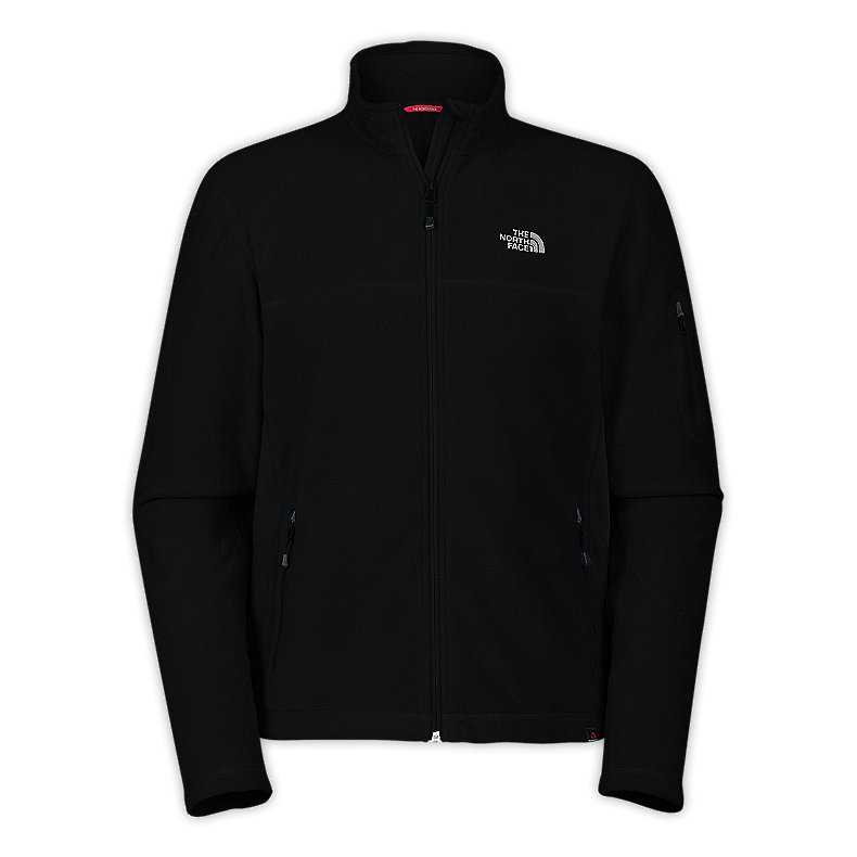 NORTH FACE MEN 100 AURORA JACKET TNF BLACK / TNF BLACK