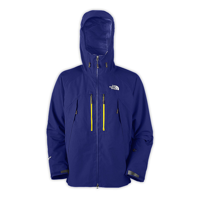 NORTH FACE MEN MOUNTAIN GUIDE JACKET BOLT BLUE
