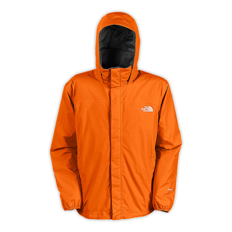 NORTH FACE MEN RESOLVE JACKET ORIOLE ORANGE