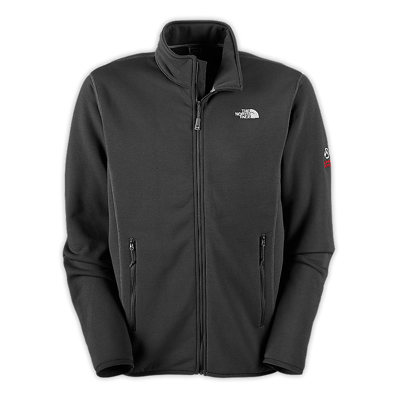 NORTH FACE MEN FLUX POWER STRETCH JACKET ASPHALT GREY