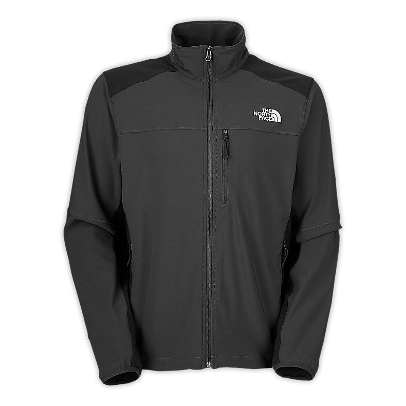 NORTH FACE MEN NIMBLE JACKET ASPHALT GREY / TNF BLACK
